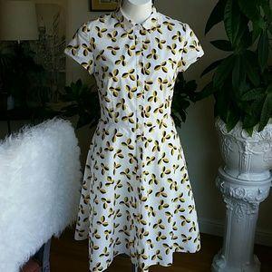 Boden cotton dress size 6